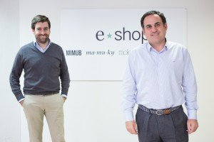 Los socios fundadores de eShop Ventures: Alfonso Merry del Val y Rafael Garrido.