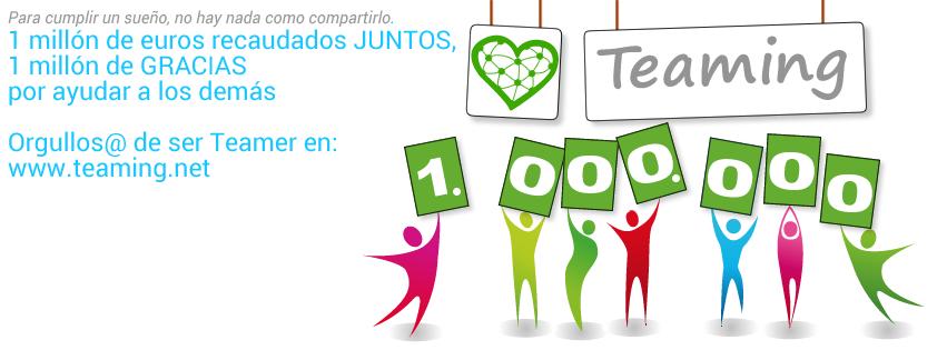 Teaming, una plataforma de crowdfunding social que ha recaudado 1,6 millones