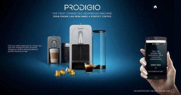 La nueva cafetera Nespresso permite hacer café desde la cama con el móvil
