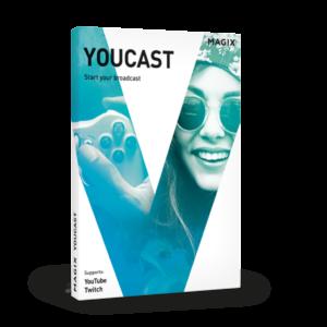 MAGIX Youcast, emitir en directo es más fácil que nunca