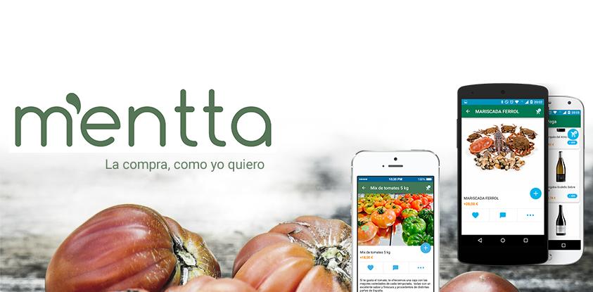 mentta, una app para hacer la compra con los mejores alimentos del país