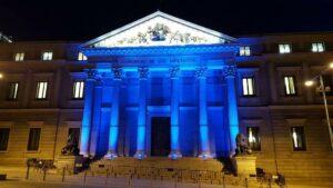 Prilux, una empresa familiar que ilumina la fachada del Congreso de los Diputados