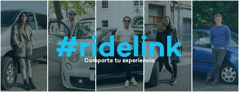 Llega RideLink, una plataforma que permite alquilar el coche de un vecino de manera instantánea
