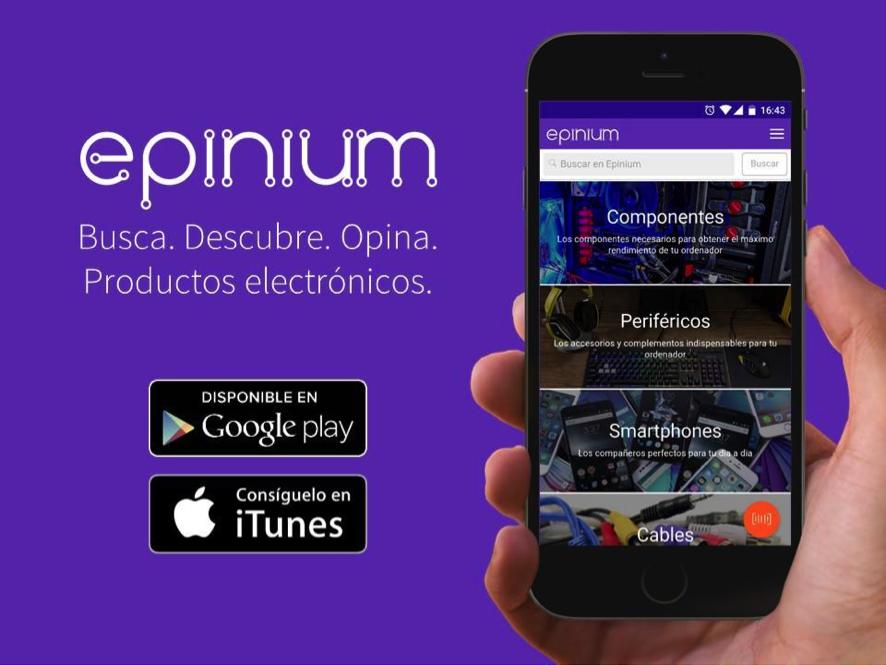 Epinium, el TripAdvisor de productos tecnológicos