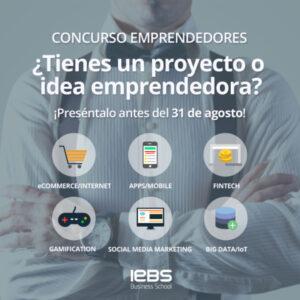¿Tienes un proyecto emprendedor? ¡Participa en el Concurso de Emprendedores de IEBS!
