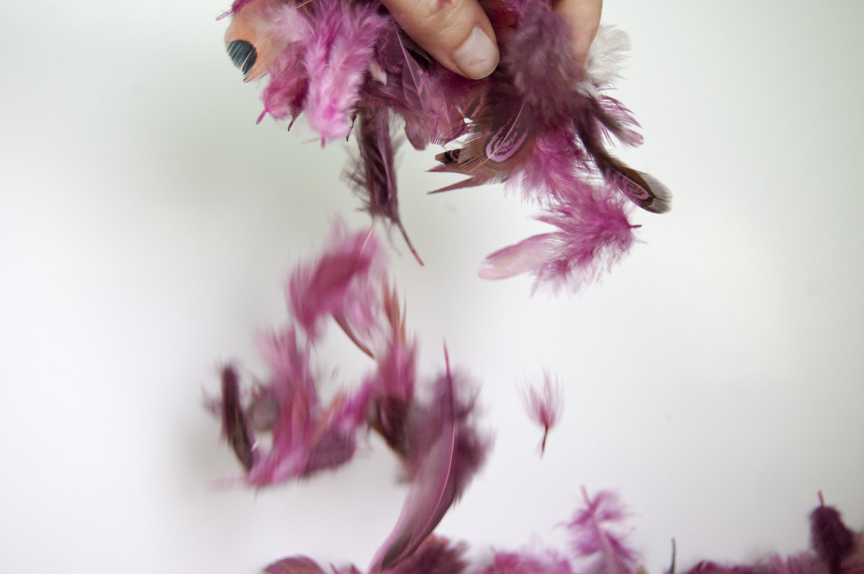 Llega Piumarela, una firma de moda donde las plumas son las protagonistas