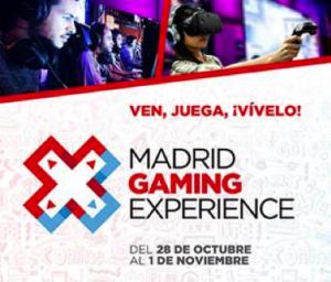 Llega Madrid Gaming Experience, el evento de realidad virtual más importante del año