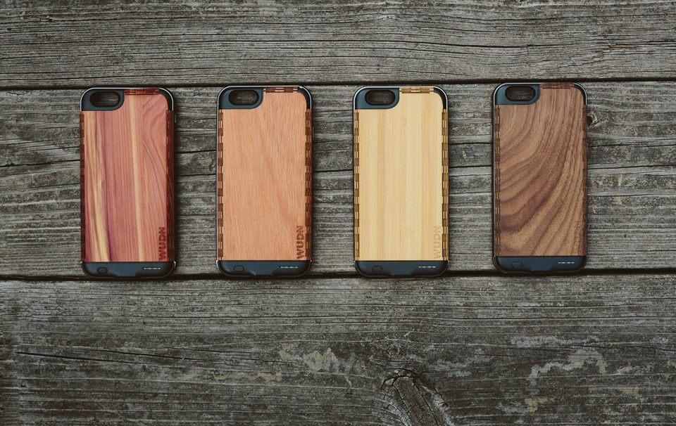 WUDN, una empresa que triunfa vendiendo fundas de madera para el teléfono móvil