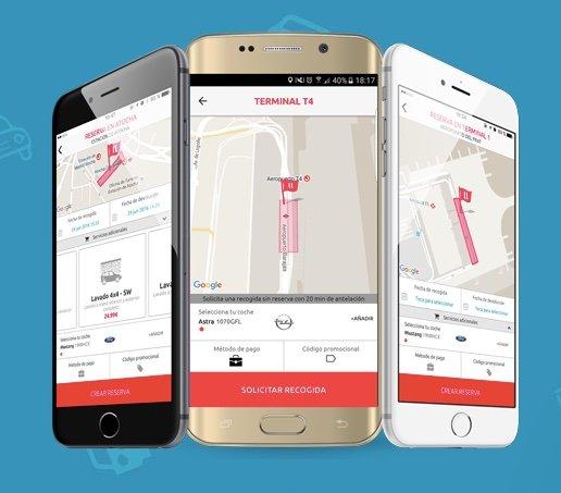 llollo, una app para solicitar un conductor que ya cuenta con más de 15.000 coches aparcados