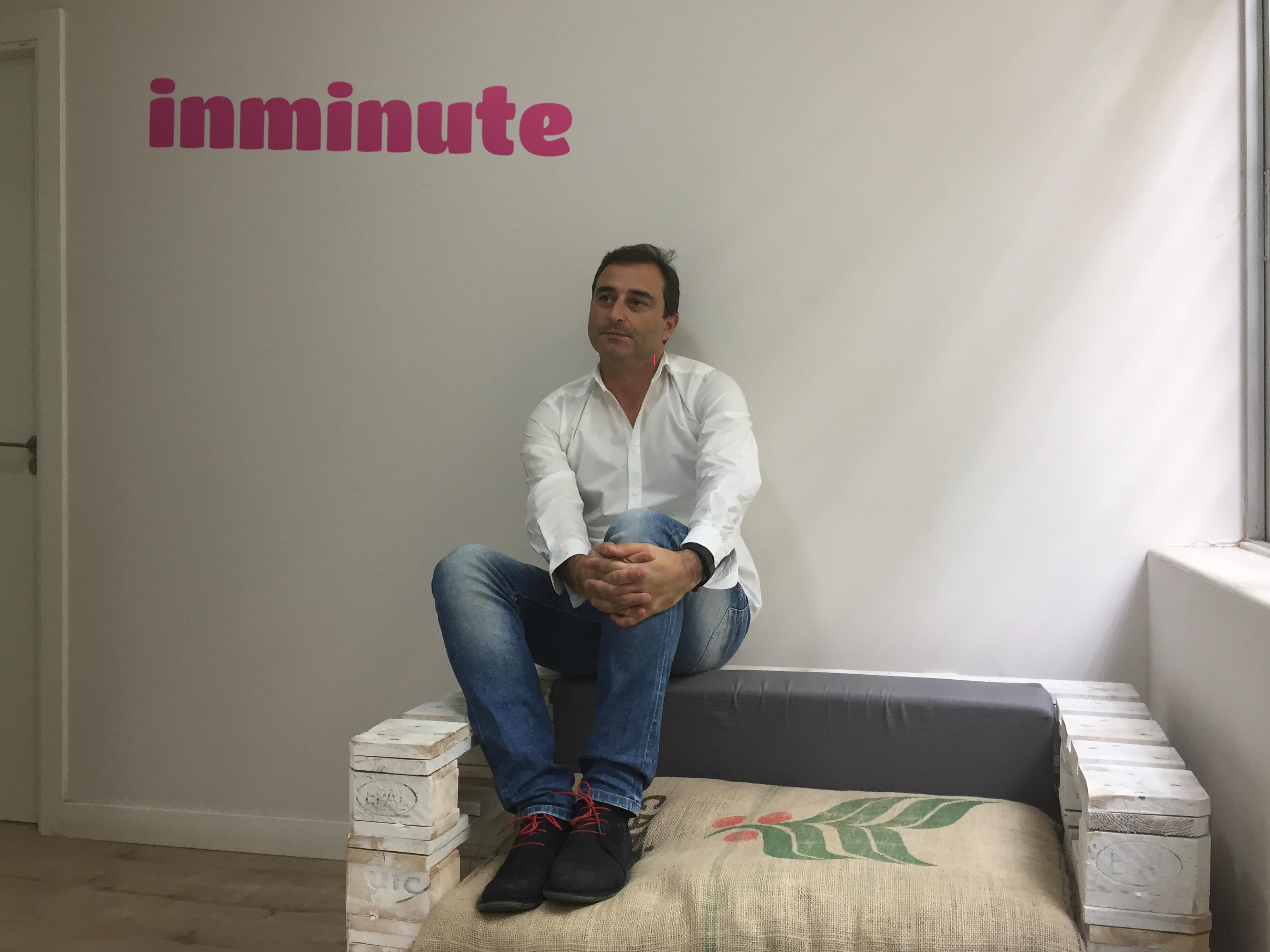 Entrevistamos a Luis Sanz, fundador y CEO de la empresa de mensajería urgente Inminute