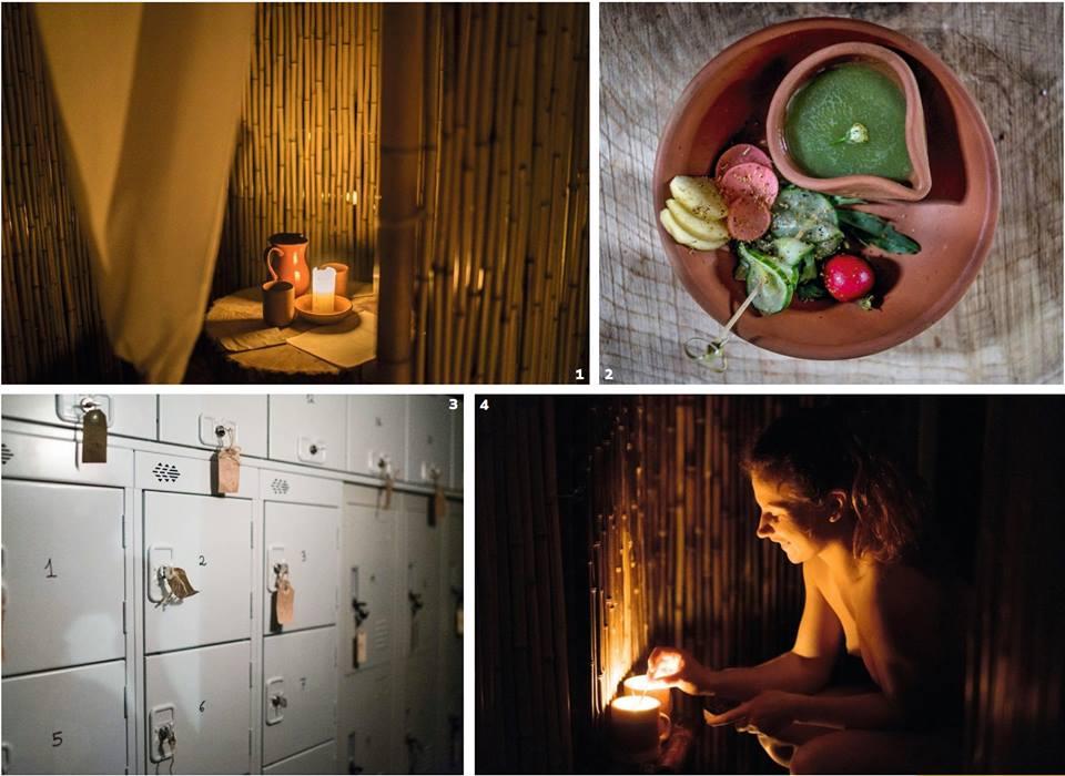 Buyandi, el primer restaurante nudista de España