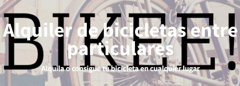 Primer premio de Startup Weekend Córdoba: Bikee