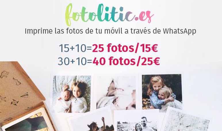 Alba Crivillé y Daniel Amieva crean Fotolitic, un sistema para imprimir fotos desde WhatsApp