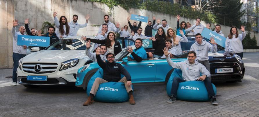 Clicars, una startup española de venta de coches on-line que ha facturado 5 millones de euros
