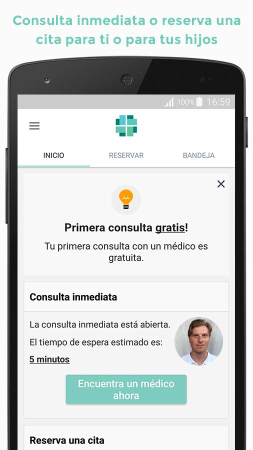 Llega a España VIDA, una app para realizar consultas médicas con el móvil