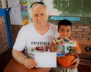 Entrevistamos a Juan Perpiñá, fundador de la ONG Chigüines de Nicaragua