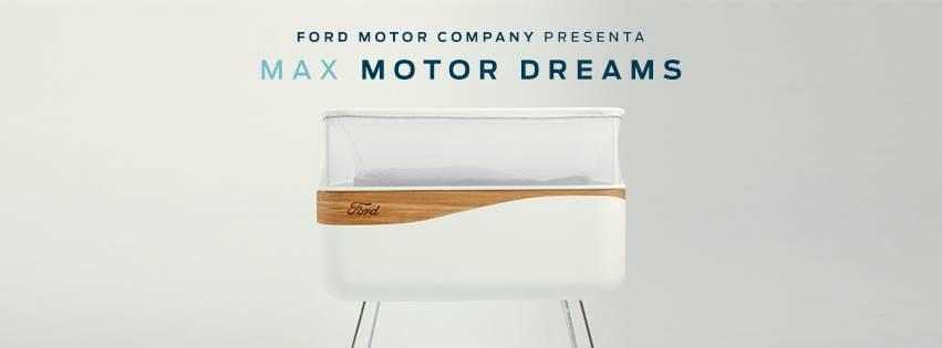 MAX Motor Dreams, una cuna que simula el movimiento del coche para dormir a los bebés
