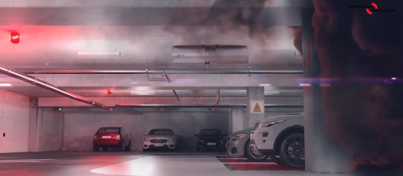 V-Real Vent, la primera app para visualizar el sistema de ventilación de un parking con realidad virtual
