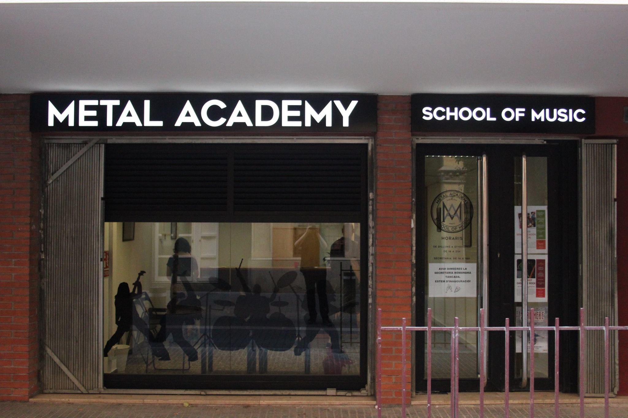Nace la primera escuela de música de Europa especializada en Metal y Hard-Rock