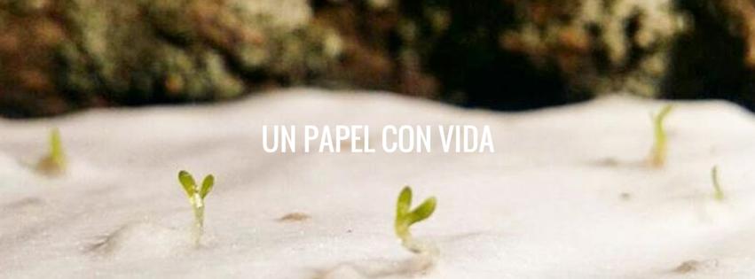 Sheedo, una startup española que fabrica un papel que se convierte en planta
