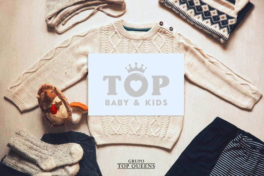 Llega Top Baby & Kids, la línea de moda infantil creada por el Grupo Top Queens