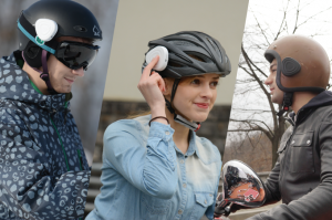 Ahead, un dispositivo que transforma cualquier casco en un casco inteligente