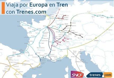 La agencia de viajes on-line Trenes.com venderá billetes de tren de SNCF en toda Europa