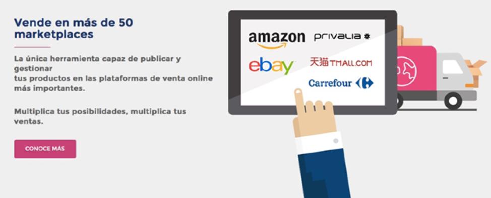 ¿Quieres vender productos en más de 50 plataformas web? Descubre cómo vender en marketplaces