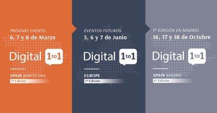 Digital 1to1 reunirá a las principales empresas del sector retail, ecommerce y soluciones digitales
