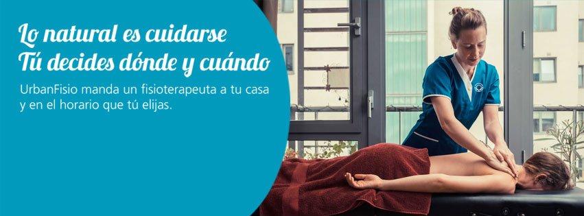 UrbanFisio, un servicio personalizado de fisioterapia a domicilio nacido en España