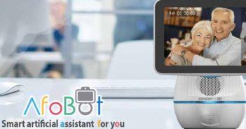 AfoBot, un robot asistente para familias