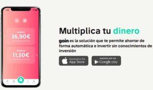 La aplicación GOIN se sitúa en el TOP 5 del App Store Finanzas