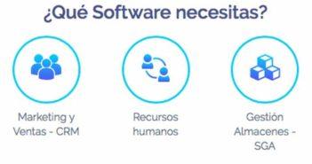 El 83,8 % de las empresas españolas usa un software de gestión o ERP