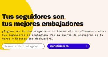 Emprendedores crean Neeuton para automatizar campañas con influencers de Instagram