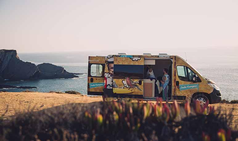 Indie Campers, una plataforma on-line de alquiler de autocaravanas y furgonetas campers