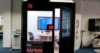 Napbox instala la primera cabina inteligente para reuniones