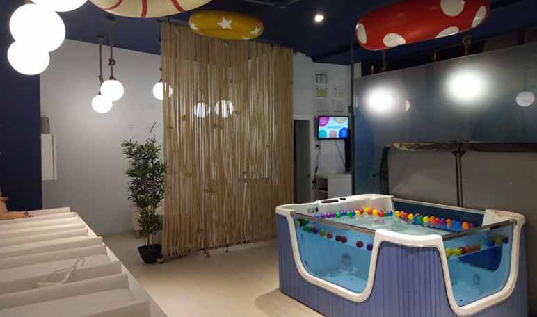 Splash Baby Spa abre el primer centro de estimulación acuática para bebés - Diario de Emprendedores