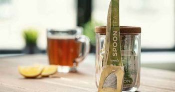Sprout Spoon, una cuchara biodegradable con bolsa de té integrada - Diario de Emprendedores