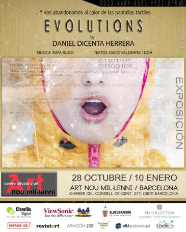 Daniel Dicenta nos trae Evolutions, una exposición con una puesta en escena multidisciplinar - Diario de Emprendedores