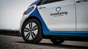 Lovesharing, la solución para alquilar un vehículo eléctrico en Canarias desde el móvil - Diario de Emprendedores