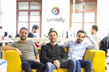 La herramienta de creación de contenidos interactivos Genial.ly cierra una ronda de financiación de 4,4 millones - Diario de Emprendedores