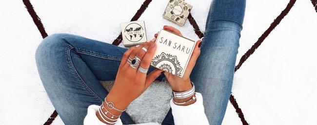 San Saru celebra su quinto aniversario con una edición especial de joyas chapadas en oro - Diario de Emprendedores