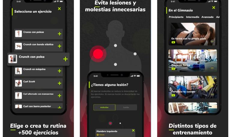 Llega Massfit, una app con más de 500 ejercicios creados por profesionales altamente cualificados - Diario de Emprendedores