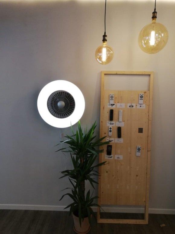 El ventilador de pared permite decorar cualquier espacio y ahorrar energía - Diario de Emprendedores