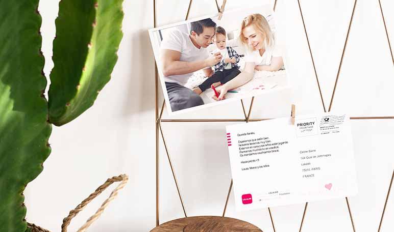 LALALAB ofrece 50.000 postales personalizables gratis durante la lucha contra el coronavirus - Diario de Emprendedores