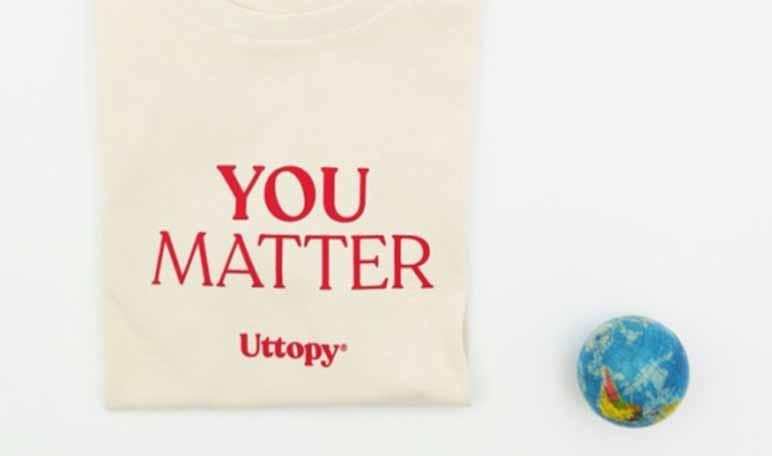 Llega Matter, una colección de moda de Uttopy y un altavoz de causas vinculadas al origen de la pandemia - Diario de Emprendedores