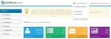 Acrelia permite gestionar de forma efectiva campañas de email de múltiples departamentos, marcas o clientes - Diario de Emprendedores
