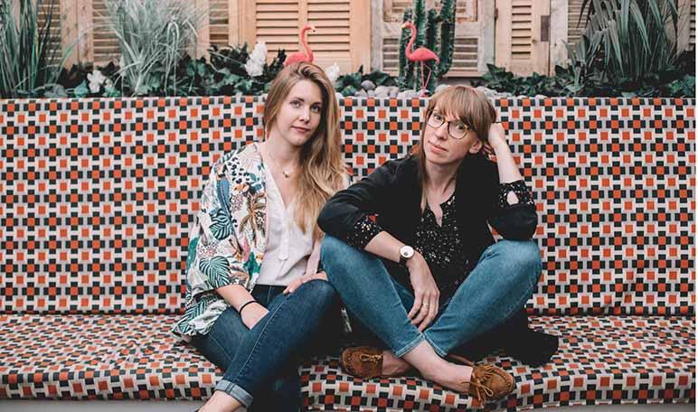 Entrevistamos a las emprendedoras Aude Croiset y Céline Legros, fundadoras de Claaac - Diario de Emprendedores