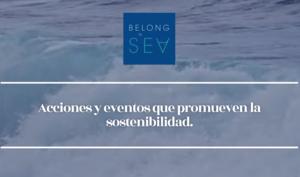 Belong to sea, una startup que organiza eventos para promover la sostenibilidad. - Diario de Emprendedores