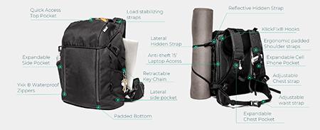 Bunji, la mochila 5 en 1 fabricada con materiales reciclados - Diario de Emprendedores
